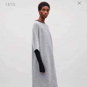 COS Rectangular knitted dress